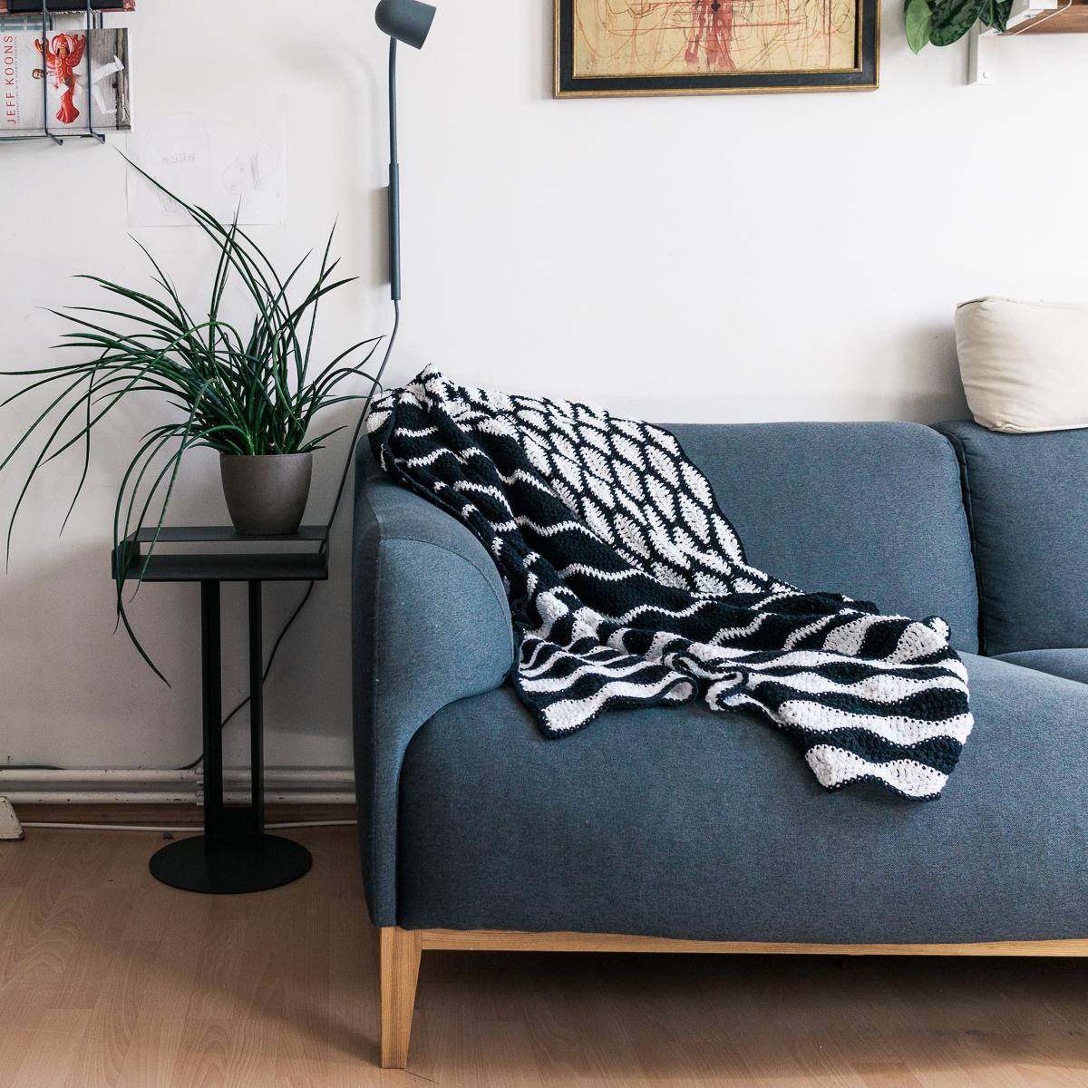 Häkelmuster für Decke